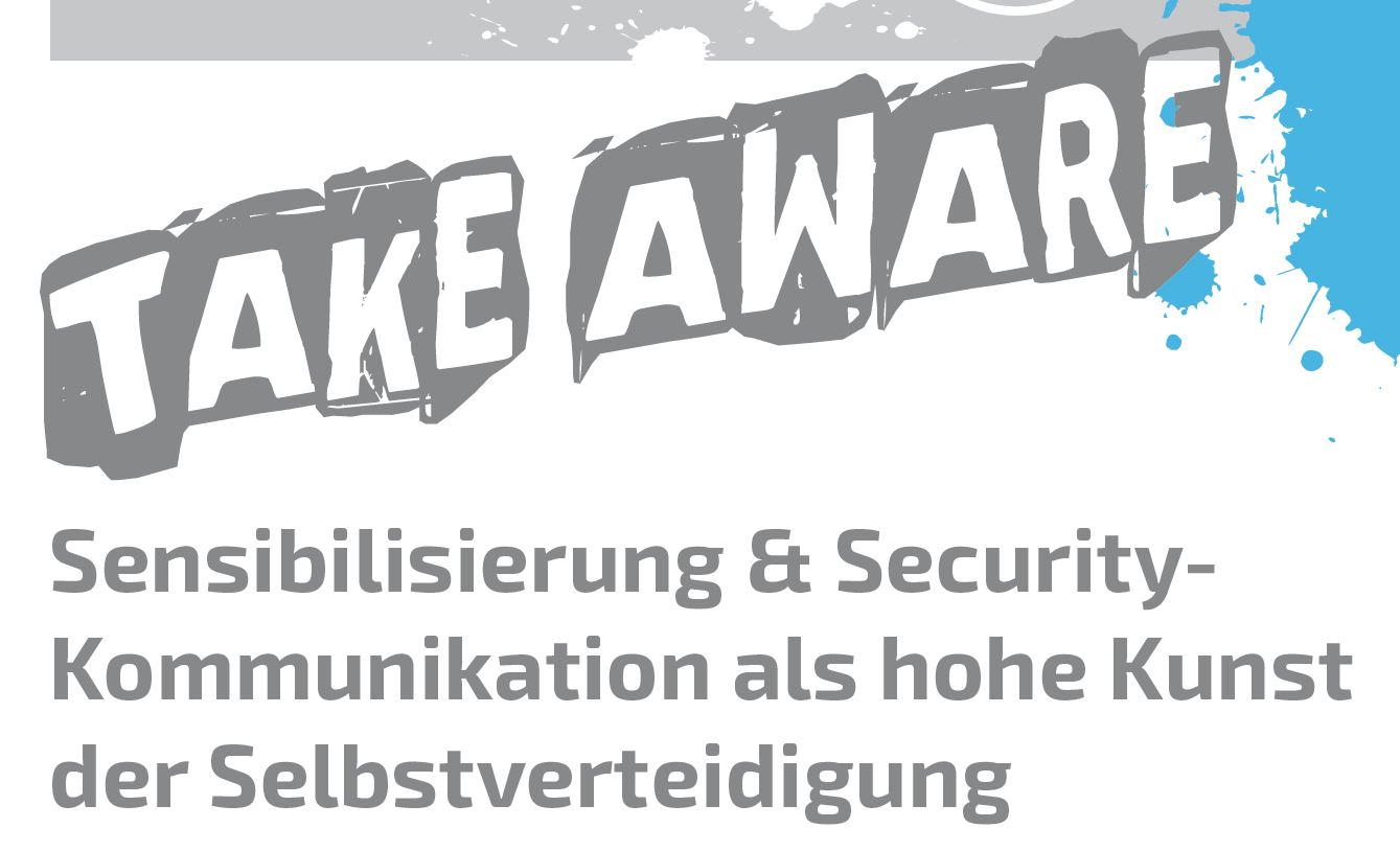 TAKE AWARE – Die Security-Awareness-Konferenz 2018
